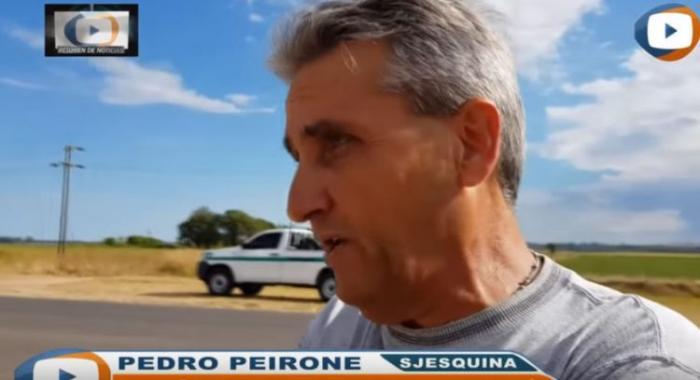 Аргентинец подвозил автостоп…