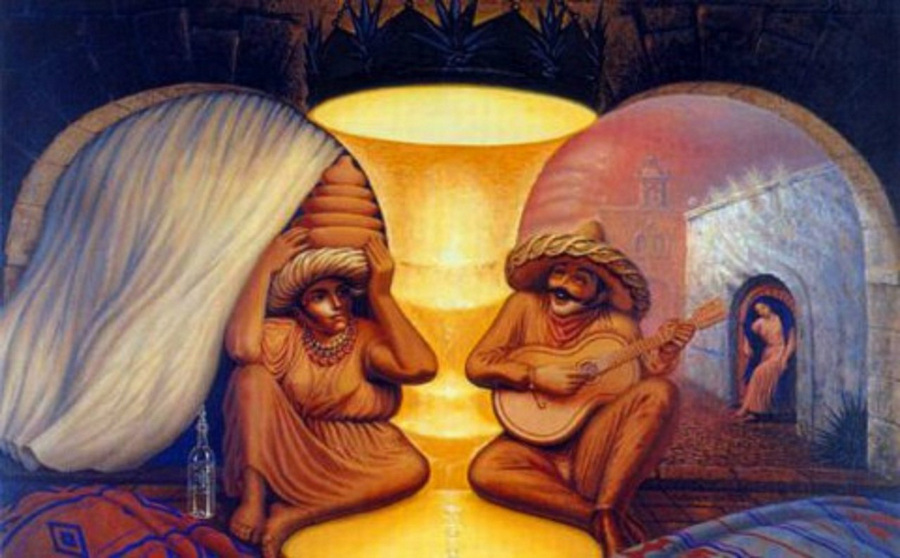 Картины художника Октавио Окампо 1