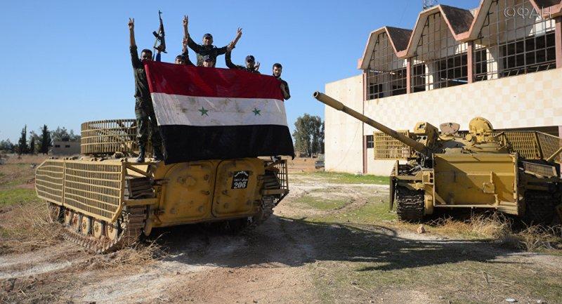 Дамаск: САА освободила от бо…