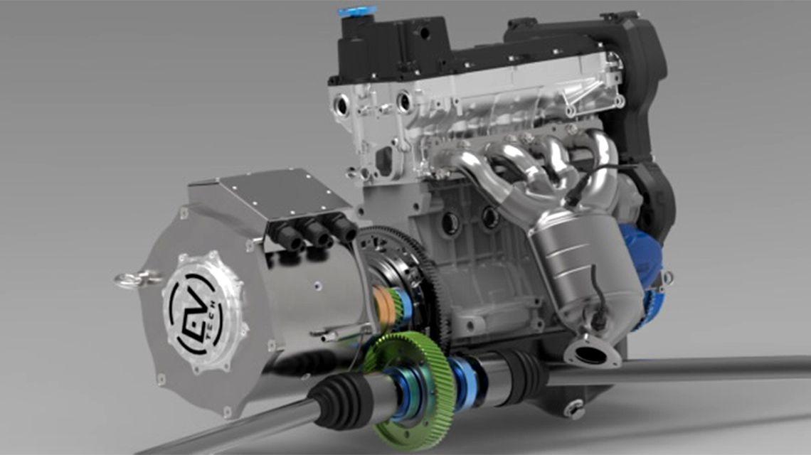Супербюджетный гибридный двигатель сделали в Москве