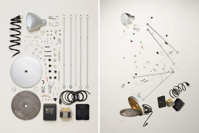 Настольная лампа, проект Things Come Apart от Тодда Маклеллана (Todd McLellan)