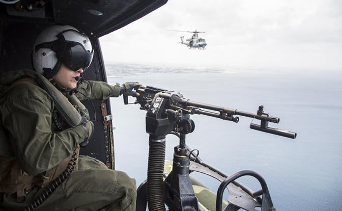 Морпехи США учатся драться с русской десантурой