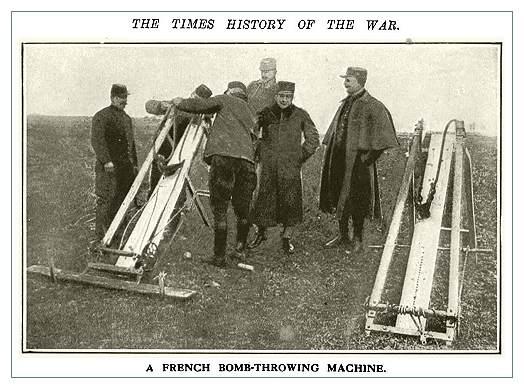 Французская бомбо-метательная машина. Средневековые технологии снова востребованы