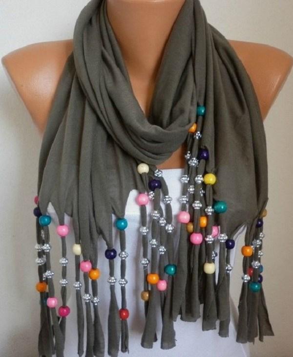 стильный шарф мужской