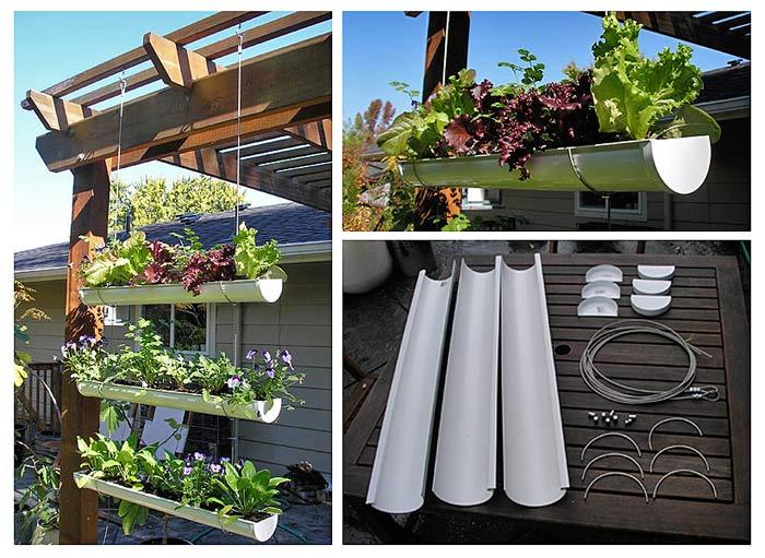 Вертикальный огород — идеи посадки растений