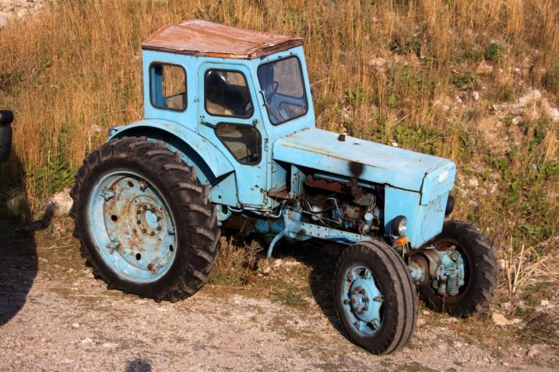 Сказка про модульность трактора
