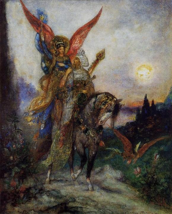 Поэт арабской (Персидский) - Гюстав Моро