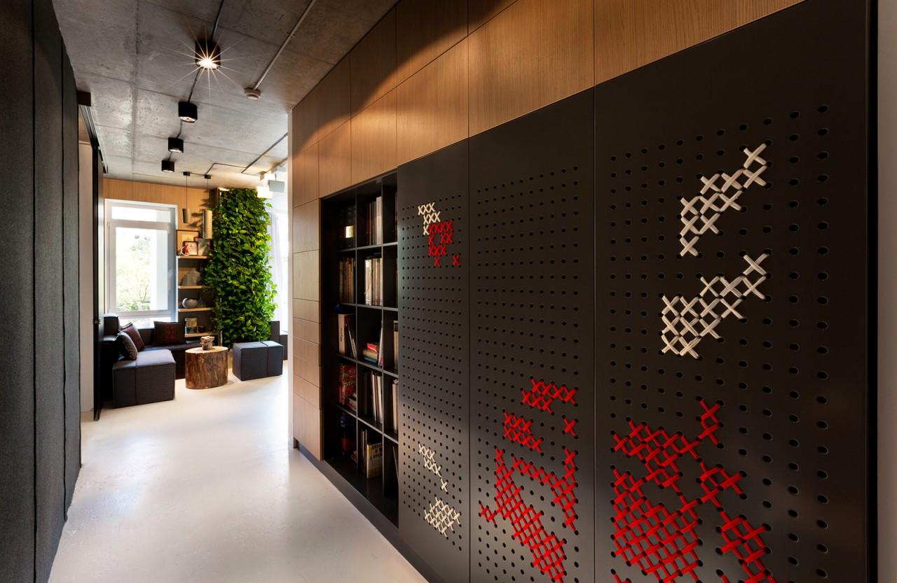 Офис студии Yakusha Design в Киеве