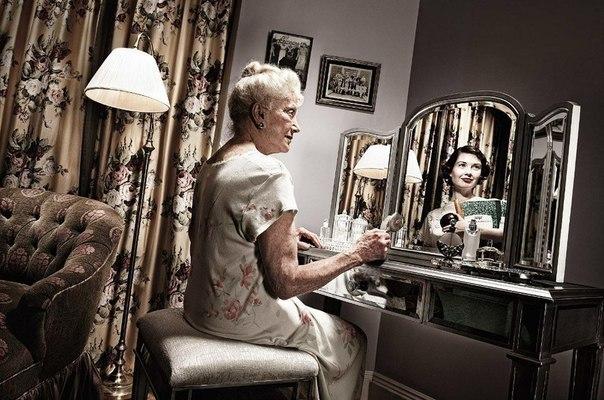 Зеркало помнит - фотопроект Tom Hussey. Трогательно... 8