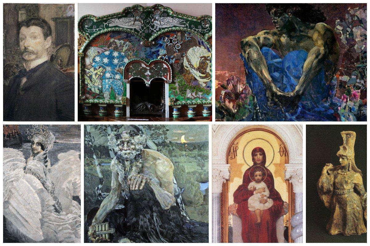 Великие имена в искусстве. Часть 3. Демоны Врубеля от которых мороз по коже