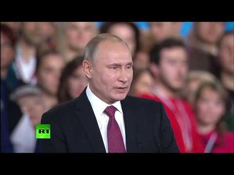 «После развала СССР мы слышали много сладких речей»: Путин выступил на форуме ОНФ