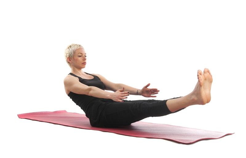 пилатес упражнения в картинках