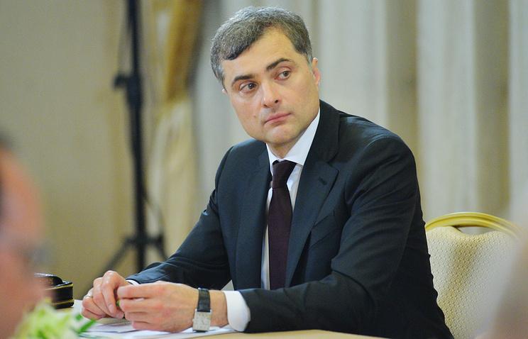 Владислав Сурков: Гражданскую войну на Украине остановила Россия
