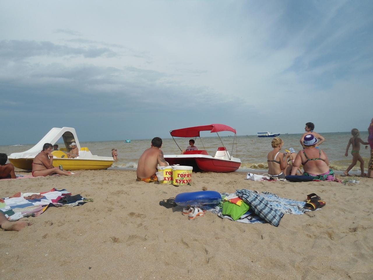 Фото пляжи в урзуфе азовское море