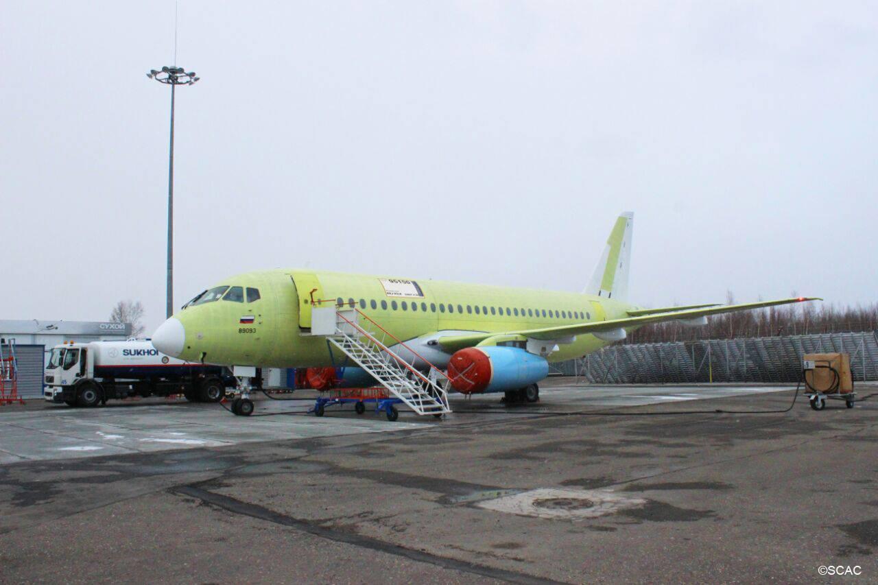 Построен 150-й самолет Sukhoi Superjet 100