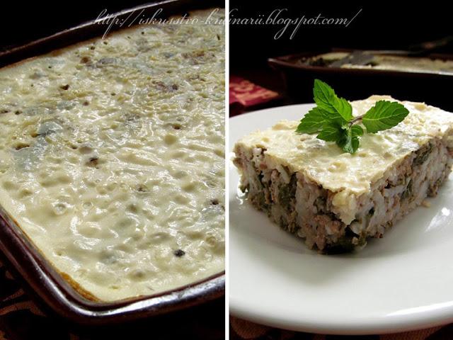 Мусака с виноградными листьями по-болгарски, или рецепт ленивой долмы