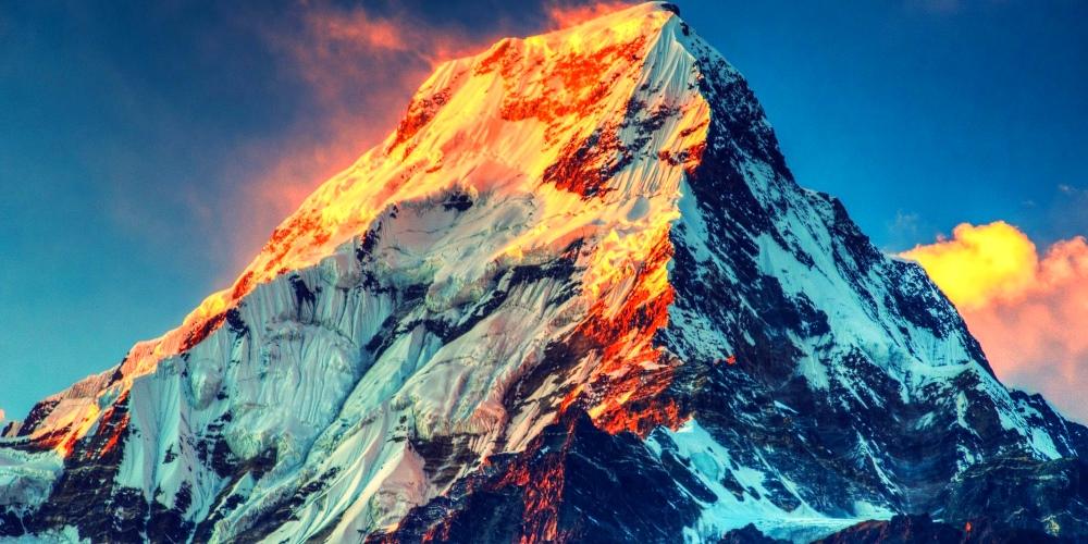 Необычные горные вершины
