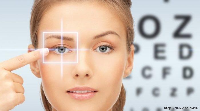 Что поможет сохранить хорошее зрение