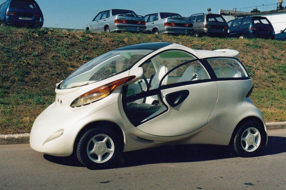 Машина из сна: история концепт-кара Lada Rapan