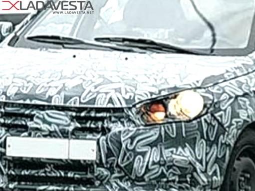 Шпионское видео: Lada Vesta на улицах Тольятти