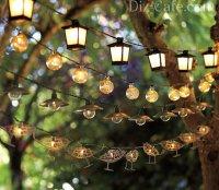 Интересные идеи для освещения дачи и сада + подборка мастер-классов