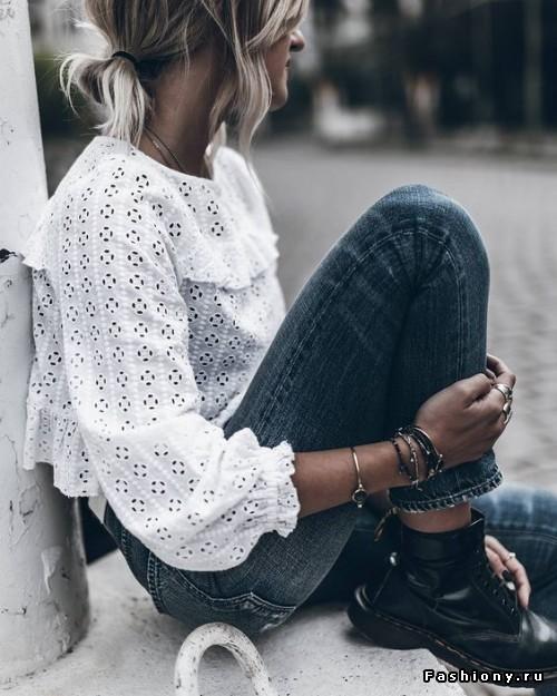 Самая-самая летняя нежность — топы, блузы и рубашки