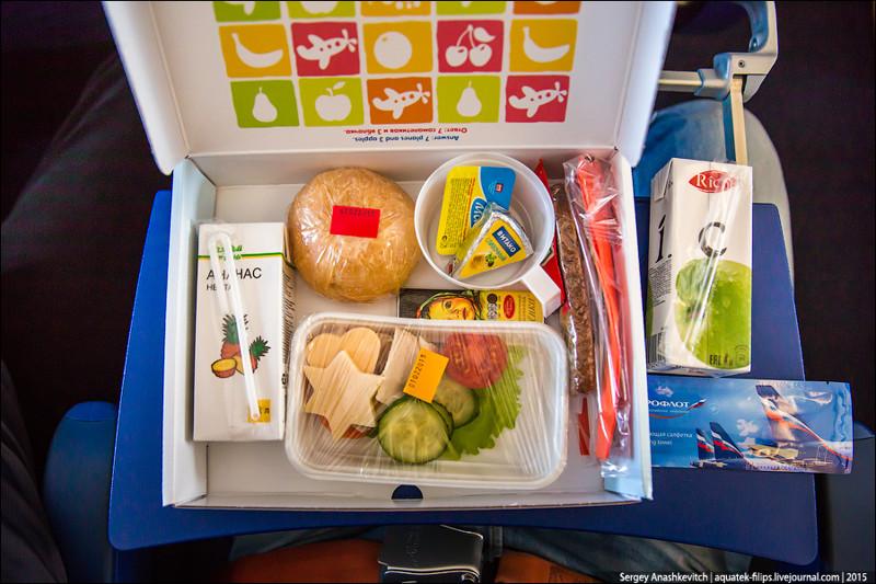 6-е место Аэрофлот (Aeroflot) 2017, авиакомпания, еда, питание, путешествия, рейтинг, самолет, снг