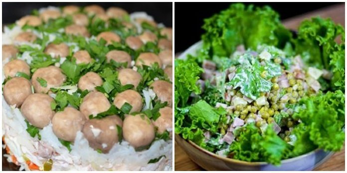 Салат «Маргарита». Шикарный салатик на скорую руку!