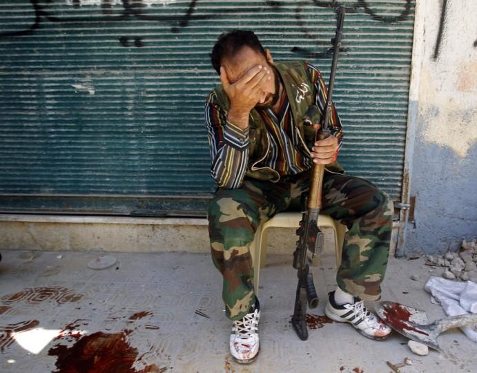 В прицелах боевиков в Сирии обнаружены комплектующие российского производства