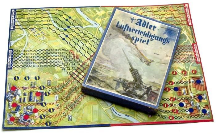 Luftverteidigungs («Противовоздушная оборона»), 1943 год. германия, настольные игры, пропаганда