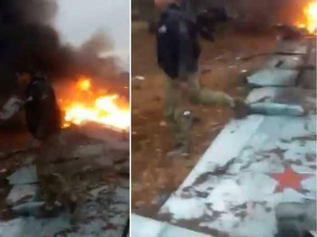В Сирии сбит российский Су-25, пилот погиб в перестрелке с боевиками