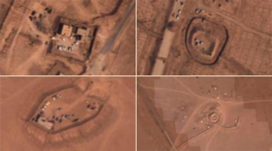 Минобороны России опубликовало снимки техники спецназа США на позициях ИГ в Сирии