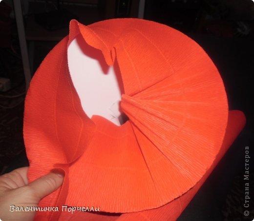 Мастер-класс Моделирование МК по каркасу для букета из игрушек Бумага гофрированная фото 12