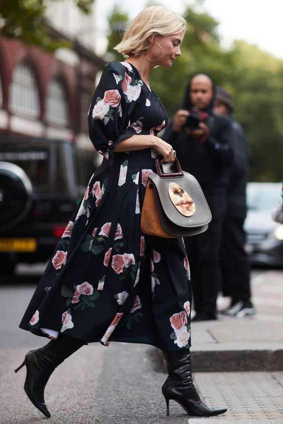 Назад в лето: 5 способов носить летящие платья и юбки осенью