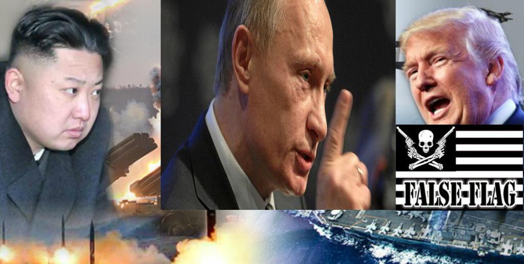 Владимир Путин: Корейский кризис – это фальшфлаг для начала Третьей мировой войны.
