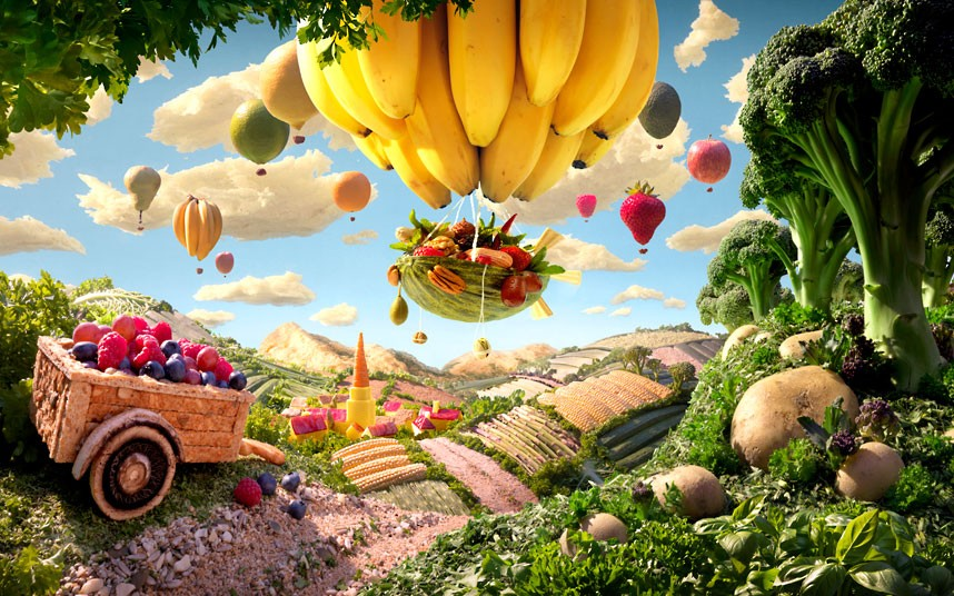 amazing foodscapes 3 Пейзажи из еды
