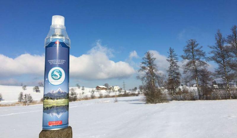 Дышите глубже: швейцарская компания продает консервированный воздух
