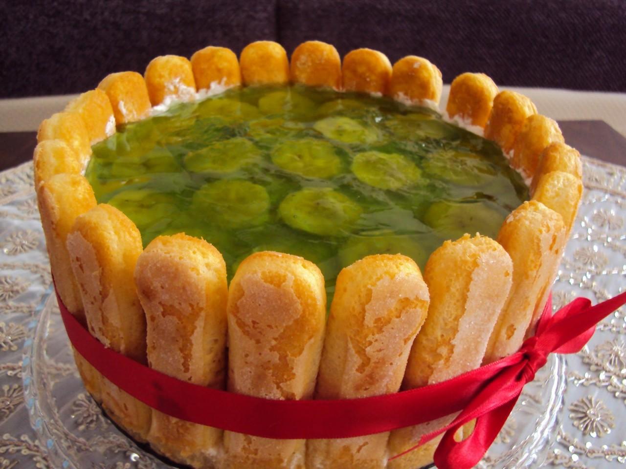 Торт «Мохито»