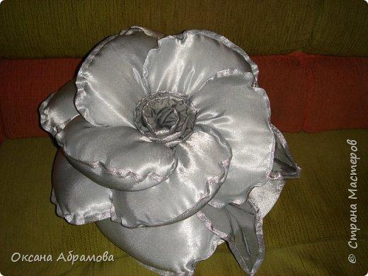 Мастер класс для подушки роза своими руками 432