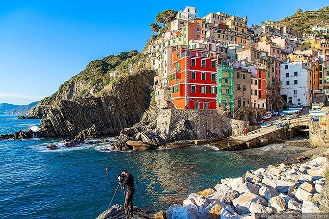 Очаровательные виды романтичного итальянского городка Риомаджоре