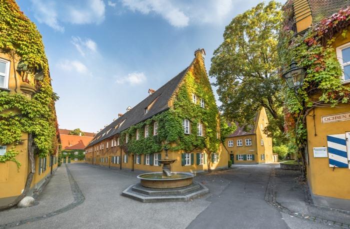 Фуггерай - один из первых в мире проектов социального жилья