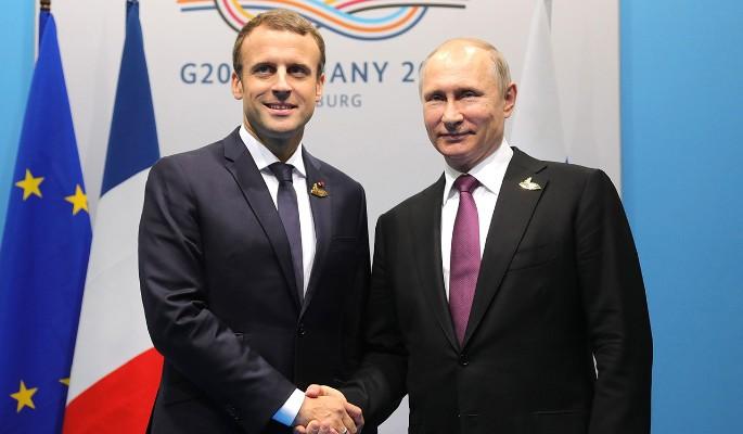 Путин попросил у Макрона пом…