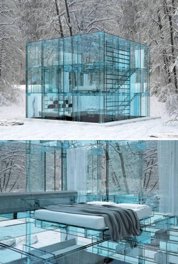 Скальный дом