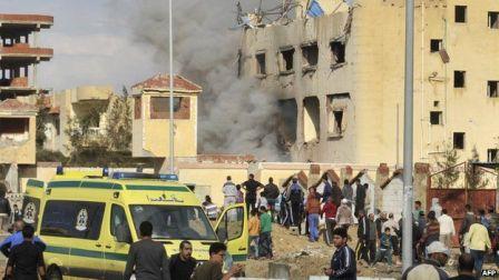 СМИ: Жертвами взрыва вмечети Египта стали десятки человек
