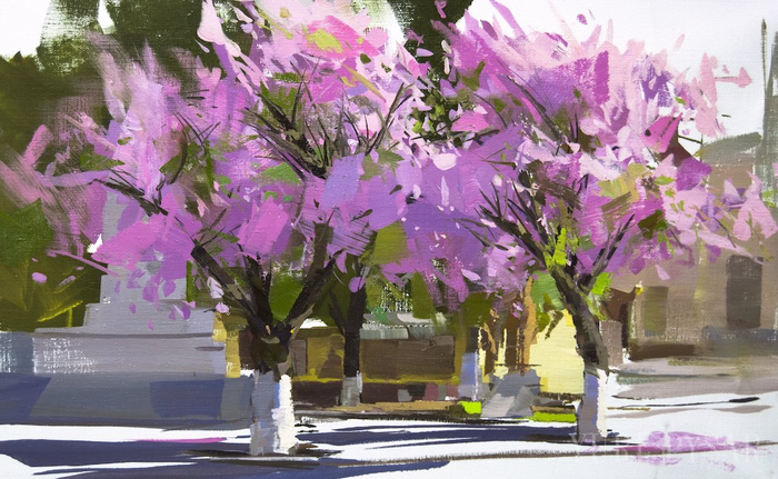 Вобрать красоту мира во всем ее многоцветии - пейзажи художника Юрия Писара