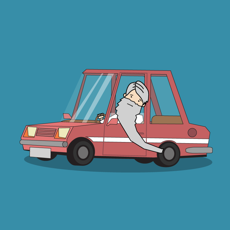 Анекдот про жадного гаишника истарика наржавой машине