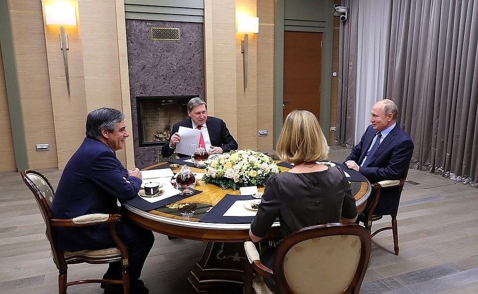 Путин лично готовит новое правительство Франции?