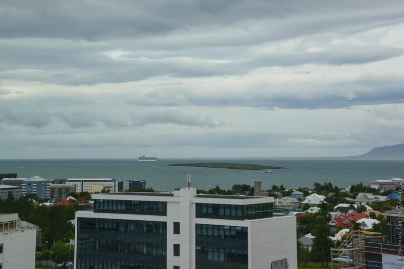 Рейкьявик. Океан и замысловатые формы пятиэтажек путешествия, факты, фото