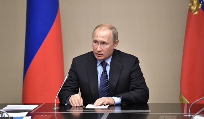 Путин впервые высказался о п…