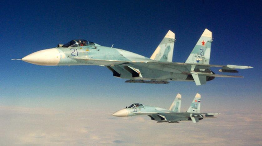 Су-27 одолел американцев в украинском небе